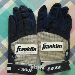 Ken Griffey Jr. 1990's Game Used Batting Baseball Gloves, Certificat & Lettre