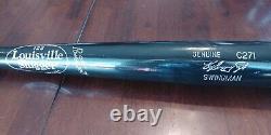 Ken Griffey Jr. Swingman 2001-07 Jeu Publié Bat Cincinnati Reds Hof Non Utilisé
