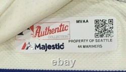 Kyle Seager #15 Sz 44 2019 Seattle Mariners Home Cream Jeu Utilisé Maillot 150 Mlb
