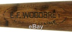Larry Doby Jeu Utilisé Negro Ligue Newark De Bat 1940 Eagles Baseball Mears Coa