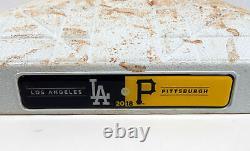 Les Dodgers De Los Angeles 2018 Au Match Des Pirates De Pittsburgh Ont Utilisé Le 3e But Pederson Hr