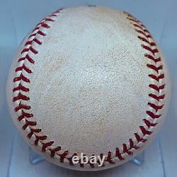 Luis Robert Double White Sox Vs Cubs 2020 Spring Training Mlb Jeu Utilisé Baseball