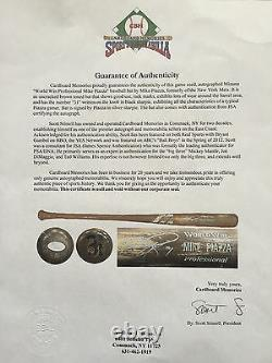 Mike Piazza Signed Jeu Utilisé Mizuno Baseball Bat Décroché Ny Mets Auto Jsa Coa