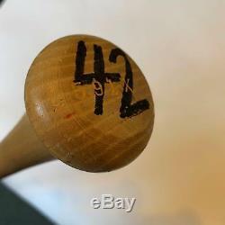 Mo Vaughn Mvp 1995 Jeu Signé Utilisé Rawlings Big Stick Baseball Bat Jsa Coa