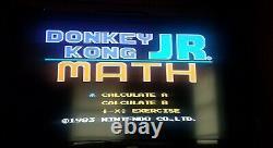 Nintendo Black Box Lot (nes) Jeux Testés! Empilez-vous ! Donkey Kong Jr Mathématiques