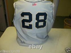 Notre Dame Jeu Utilisé Baseball Jersey # 28