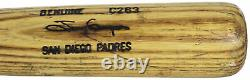 Padres Tony Gwynn 1991-95 Jeu Utilisé Louisville Slugger C263 Bat Psa/adn #ib1662
