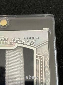 Ronald Acuna Jr. 2021 Topps Sterling Letter Patch J Jeu Utilisé 1/1 Braves