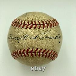 Satchel Paige Signed 1930's Negro League Game Used Official Baseball Jsa Coa