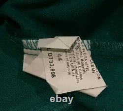 Seager #15 Taille 44 2019 Mariners Jeu Utilisé Jersey Maison Sarcelle 150 Patch Mlb Holo