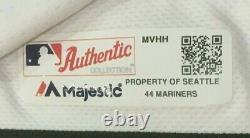 Sheffield Taille 44 #33 2019 Seattle Mariners Jeu Utilisé Jersey Maison Blanc Mlb Holo