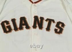 Stratton Taille 48 #49 2018 San Francisco Giants Jusqu'à Utiliser Jersey Home Cream Mlb