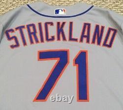 Strickland Taille 48 #71 2020 New York Mets Jeu Utilisé Jersey Route Seaver 41 Mlb