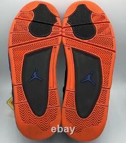 Taille 11 -air Jordan 4 Retro Cavs 2012 Jeu Noir Royal Orange 308497-027 Utilisé