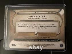 Topps Triple Threads 2017 White Whale Mike Piazza 1/1 Auto Game Used Patch