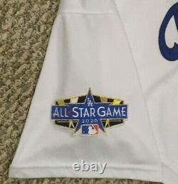 Treinen Sz 50 2020 Los Angeles Dodgers Maillot De Match À Domicile Utilisé All Star Patch Mlb