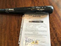 White Sox Frank Thomas Jeu Utilisé Wsc Baseball Bat Psa 10