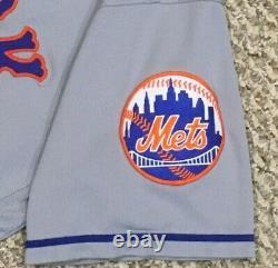 Wilson Taille 48 #38 2020 New York Mets Jeu Utilisé Jersey Road Seaver 41 Mlb Holo