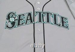 Zunino Taille 48 #3 2018 Seattle Mariners Jeu Utilisé Jersey Road Gris Mlb Hologram