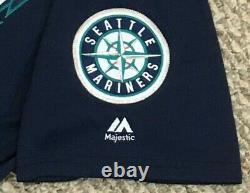 Zunino Taille 48 #3 2018 Seattle Mariners Jeu Utilisé Jersey Route Marine Mlb Hologram